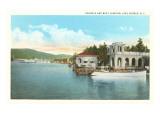 Boat Landing  Lake George  New York