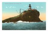 Tillamook Lighthouse  Seaside  Oregon