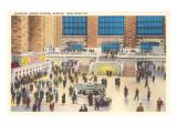 Interior  Grand Central Station  New York City