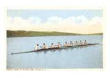 Cornell Crew on Cayuga Lake  Ithaca  New York