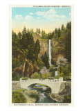 Multnomah Falls  Columbia River  Oregon