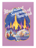 Illustrated Souvenir of New York City  Golden Hind