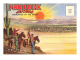 Postcard Folder  Phoenix  Arizona