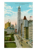 Woolworth Building  Broadway  New York City