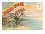 Postcard Folder of Mojave Desert