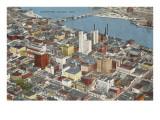 View over Toledo  Ohio