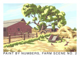 Paint by Numbers  Farm Scene Number 2