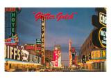 Glitter Gulch  Las Vegas  Nevada