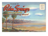 Postcard Folder  Palm Springs  California