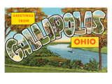 Greetings from Gallipolis  Ohio