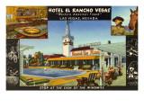 Hotel El Rancho Vegas  Las Vegas  Nevada