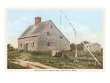 Jethro Coffin House  Nantucket  Massachusetts