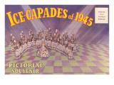Postcard Folder  Ice-Capades of 1945