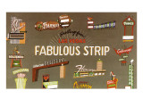 Fabulous Strip  Las Vegas Hotel Signs  Nevada