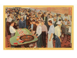 Casino Scene  Las Vegas  Nevada