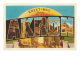 Greetings from Akron  Ohio