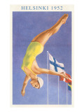 Olympic Diving  Helsinki  Finland  1952