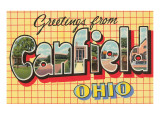 Greetings from Canfield  Ohio