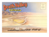 Postcard Folder of Death Valley  California