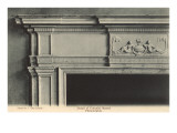 Detail of Colonial Mantel  Philadelphia  Pennsylvania
