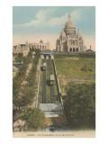 Funicular Railway to Sacre Coeur Church