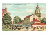 Old State House  Philadelphia  Pennsylvania  1735