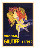 Advertisement for Cognac Gautier Freres