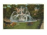 Memorial Fountain  Poughkeepsie  New York