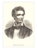 Etching of Young Abraham Lincoln