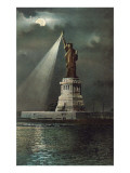 Statue of Liberty  Torch Spotlight