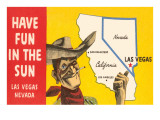 Have Fun in the Sun  Las Vegas  Map  Nevada