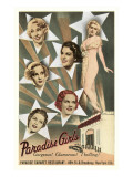 Paradise Girls  Cabaret Advertisement  New York City