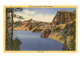 Crater Lake  Llao Cliff  Oregon