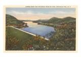 Sacandaga Reservoir Dam  Adirondacks  New York