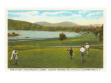 Golf Course  Cooperstown  New York