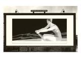Billboard of Lady Rower  Beauty of Rowing