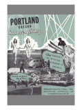 Portland Has Everything  Oregon Travel Poster