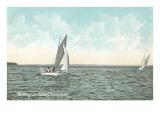 Yachting on Lake Champlain  New York