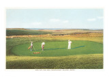 Golfing by the Sea  Nantucket  Massachusetts