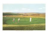 Golfing by the Sea  Nantucket  Massachusetts