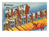 Greetings from New Rochelle  New York