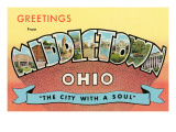 Greetings from Middletown  Ohio