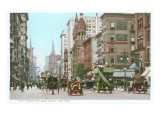 Vintage 5th Avenue and 42nd Street  New York City