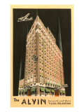 The Alvin Hotel  Tulsa  Oklahoma