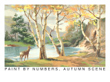 Paint by Numbers  Autumn Scene