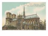 Apse of Notre Dame  Paris