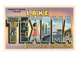 Greetings from Lake Texoma  Oklahoma