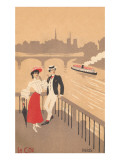 Couple on the Seine  Graphics