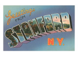 Greetings from Stamford  New York