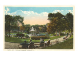 City Park  Saratoga Springs  New York